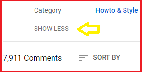 How to find category of any YouTube video?