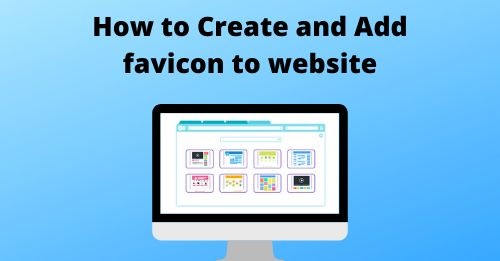 How to add favicon to website